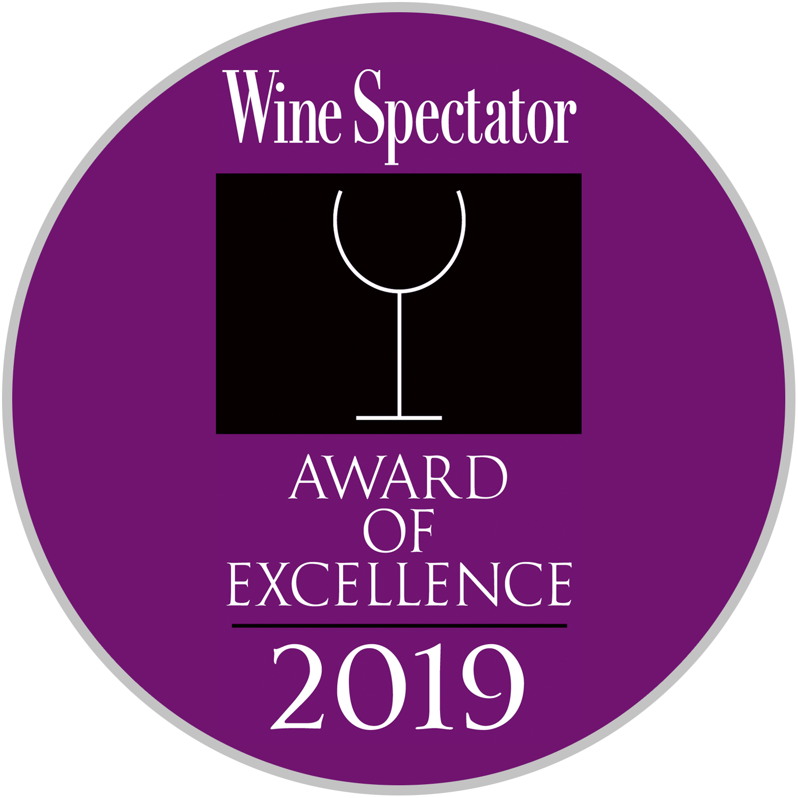 wine spectator award of excellence 2019 - Rusty Scupper